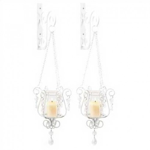 Bedazzling Pendant Votive Candle Holders