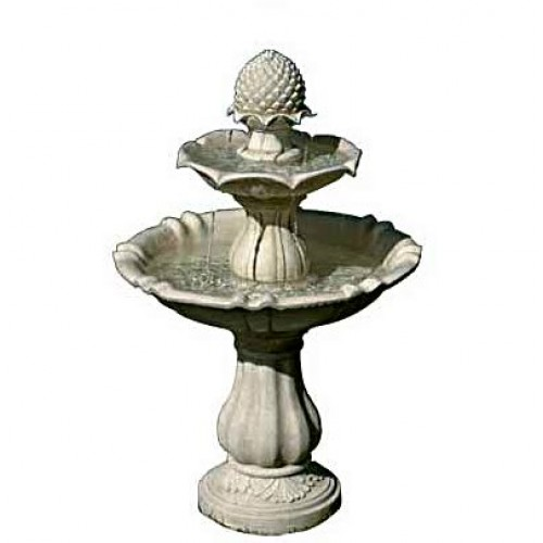 Three Tier Acorn Water Fountain