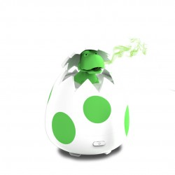 Little Ones Series - DINO EGG Room Aromatherapy Diffuser for Essential Oils - New Silicone Soft Top Design - USB Powered