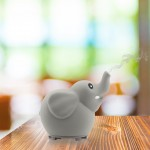 Little Ones Series - ELEPHANT Room Aromatherapy Diffuser for Essential Oils - New Silicone Soft Top Design - USB Powered