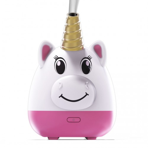 Little Ones series - UNICORN Kids Room Aromatherapy Diffuser for Essential Oils - New Silicone Soft Top Design - USB Powered