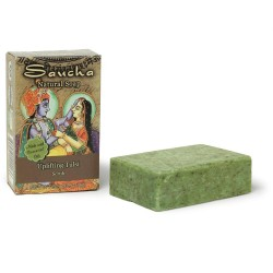 Soap Bar Saucha - Natural Uplifting Tulsi Scrub - 3.5 oz (100g)